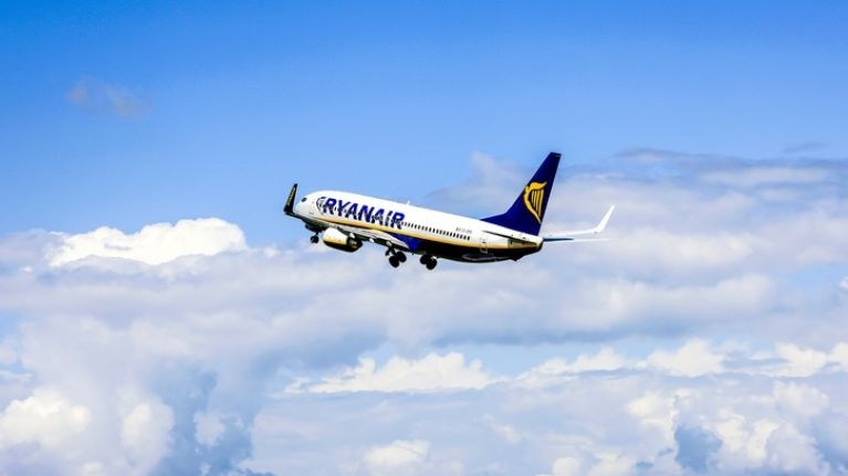 All Ryanair flights to and from Irish airports today are operating normally