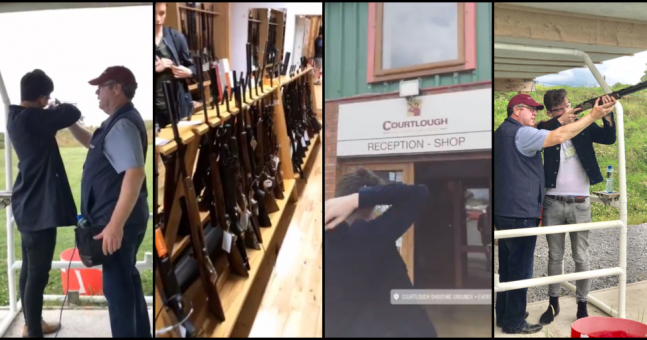 WATCH: Two men travel to North County Dublin to face each other in tense shoot-off