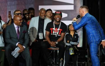 WATCH: Irish fans chant 'F**k the Mayweathers' at McGregor press conference in Toronto