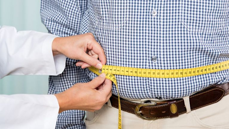 Nearly half of Irish people class themselves as overweight
