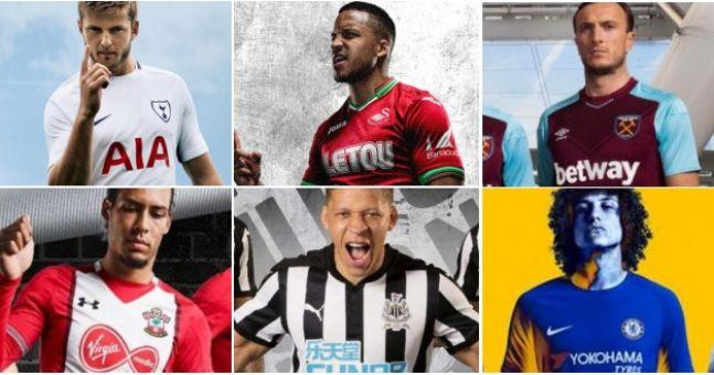 QUIZ: Do you know where all those new Premier League shirt ...