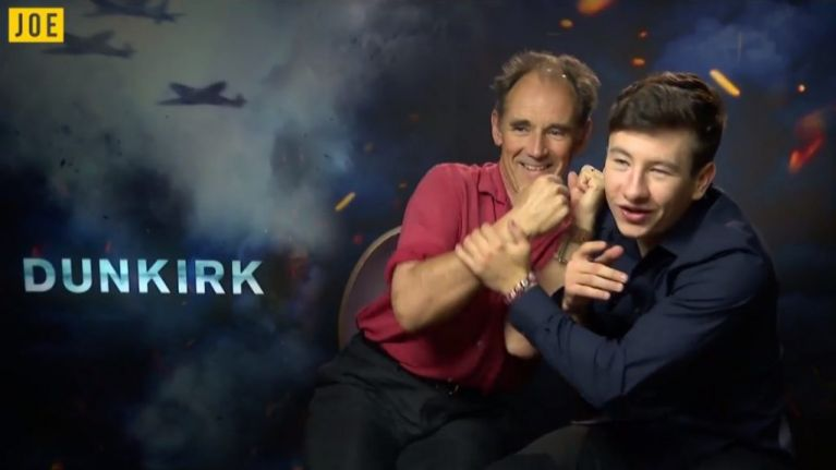 Spielberg's favourite actor is already helping Barry Keoghan with his Oscar speech
