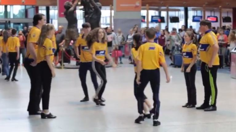 WATCH: This flash mob of Irish dancers will have you dancing a jig all day