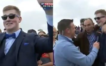 WATCH: The Galway races interview that has everybody talking
