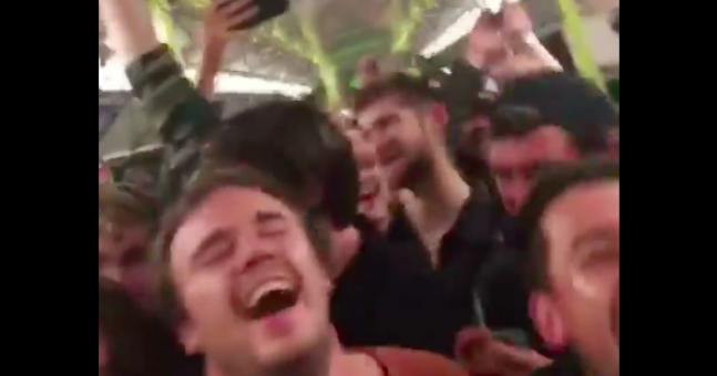WATCH: Incredible Sunday night Bohemian Rhapsody singalong on a packed DART