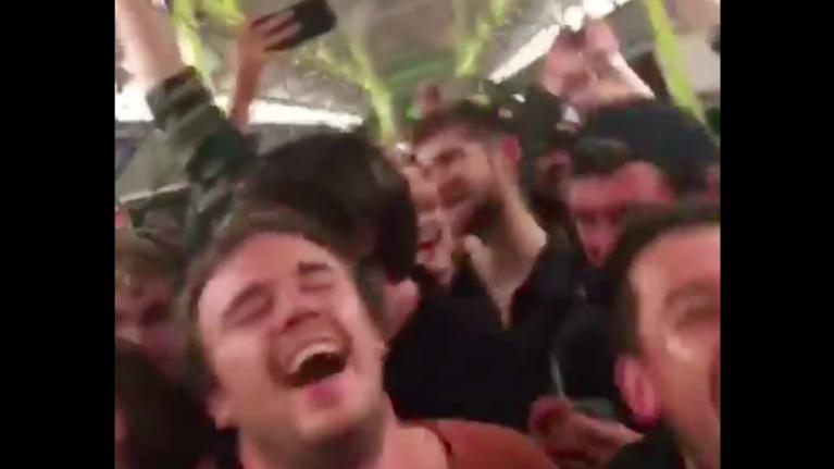 WATCH: Incredible Sunday night Bohemian Rhapsody singalong on a packed DART
