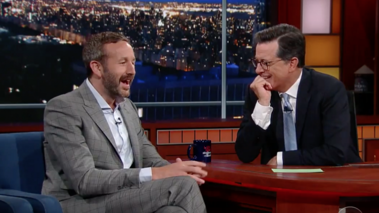 Chris O'Dowd made some rather controversial claims about GAA on Stephen Colbert