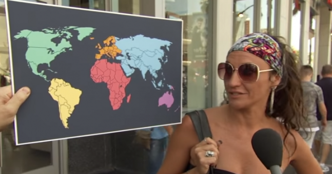 WATCH: North Korea is a serious threat but Americans don't actually know where it is