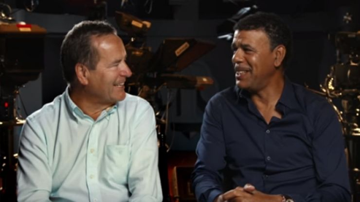 Promo for Jeff Stelling and Chris Kamara's Journey to Croker looks unreal