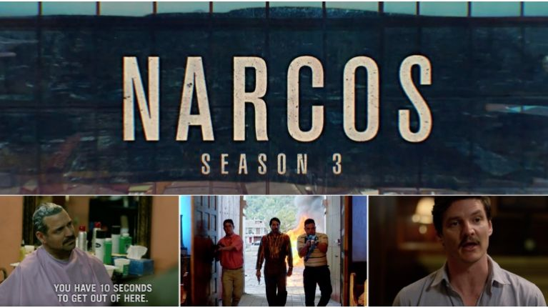 WATCH: It's coming back! The explosive trailer for Narcos