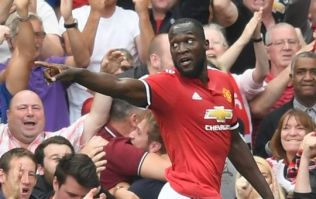 Lukaku's first ever Manchester United goal celebration made football fans very angry