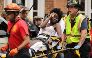 Car crashes into crowd protesting against white supremacists march in Charlottesville