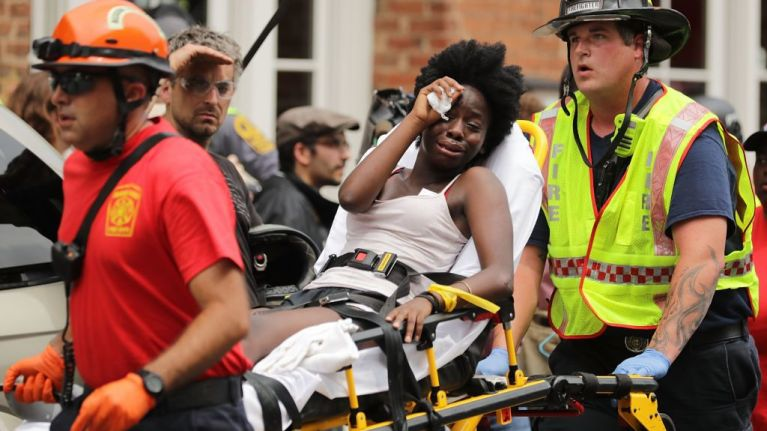 Organiser of Charlottesville rally tweets vile insult at the woman who died at the rally