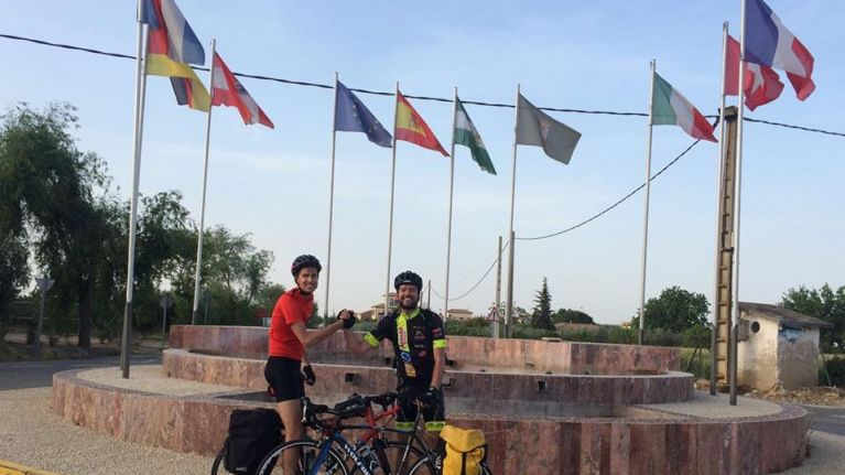 Irish man takes on epic 5,000km cycle around Europe in aid of Syrian refugees