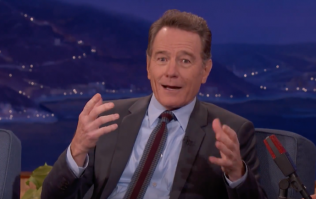 Bryan Cranston told a very NSFW public sex story on Conan O'Brien this week