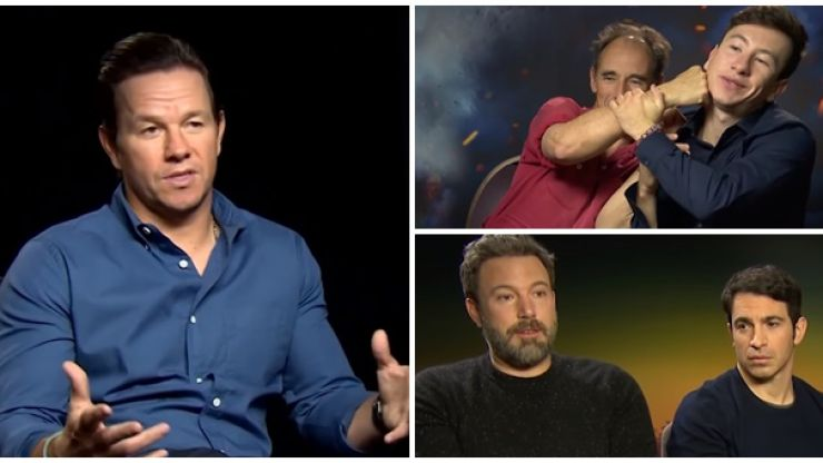 WATCH: Mark Wahlberg, Domhnall Gleeson and stars of Dunkirk give their predictions for the big fight