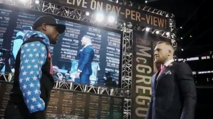 WATCH: The official promo for Mayweather v McGregor, voiced by The Rock, will give you goosebumps