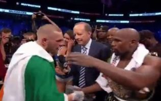 Conor McGregor's message to Floyd Mayweather after their fight was pure class