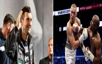 Carl Froch's commentary did not go down well with many fans watching McGregor v Mayweather