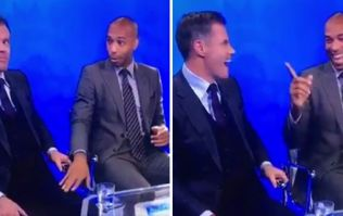 It's happened again! Carragher and Henry's hilarious bromance continues on strong