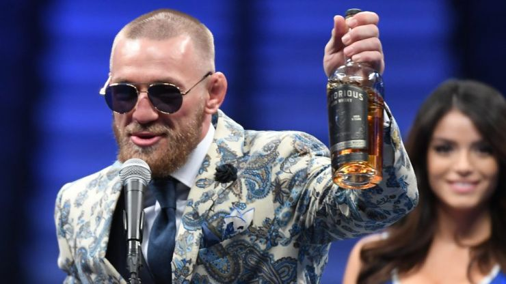 McGregor is aiming to take over the Irish whiskey market with his own Notorious brand