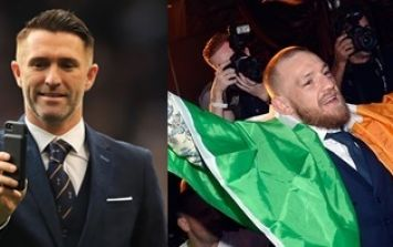 Conor McGregor and Robbie Keane show that even famous folk have those essential nightclub heart to hearts