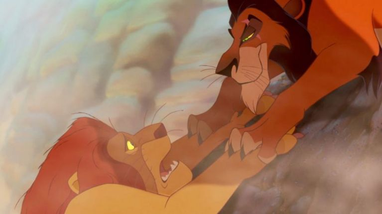 Lion King Scar And Mufasa The Lion King director...