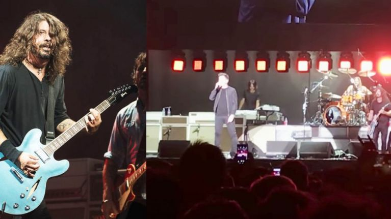 WATCH: Rick Astley is joined by Foo Fighters to perform Never Gonna Give You Up