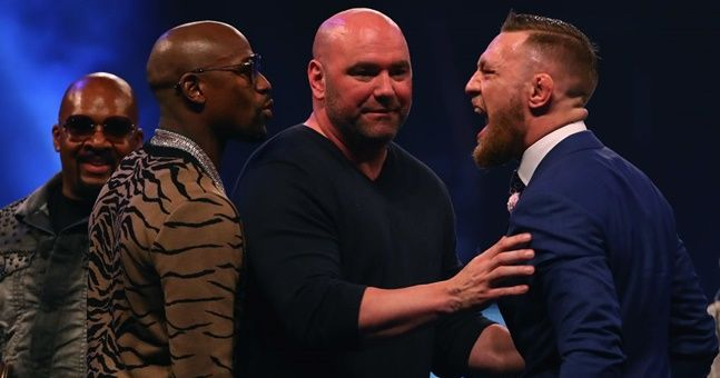 There will be an official Irish fan zone in Las Vegas for McGregor v Mayweather this weekend