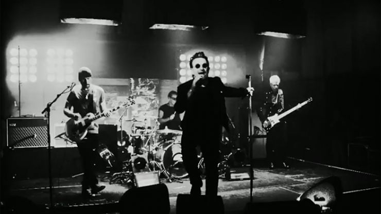 LISTEN: 'The Blackout', U2's first new song in three years, gives us a taster of what to expect from their new album