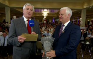 PICS: Did anyone spot this gaffe on The Sunday Game last night?