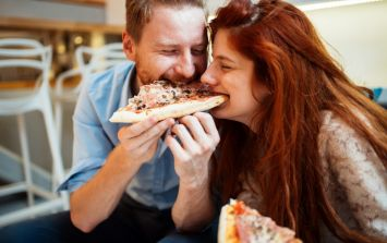 A lot of couples will be able to relate to his Irish takeaway delivery note