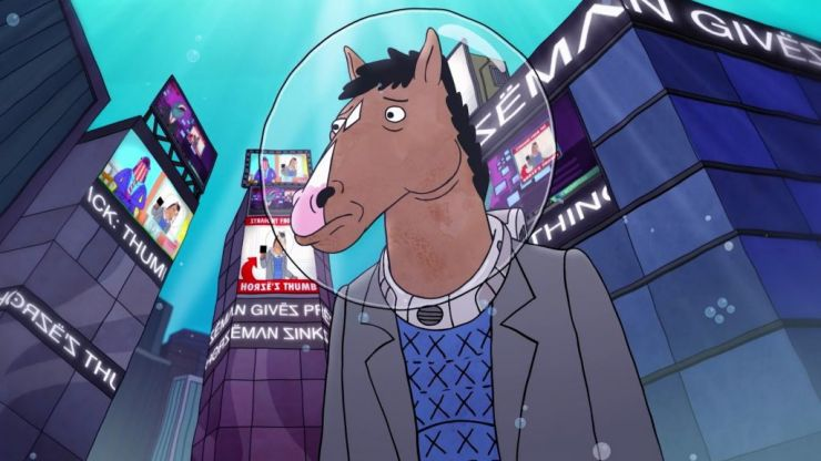 Image result for bojack horseman fresh out of water