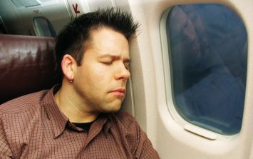 This is why you should avoid falling asleep before a plane takes off