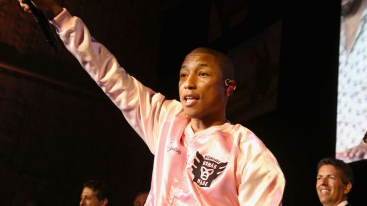 Pharrell Williams reveals why he still looks so damn young at the age of 44
