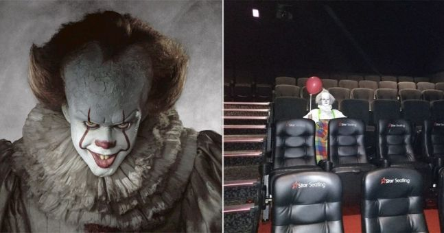 it clown voice