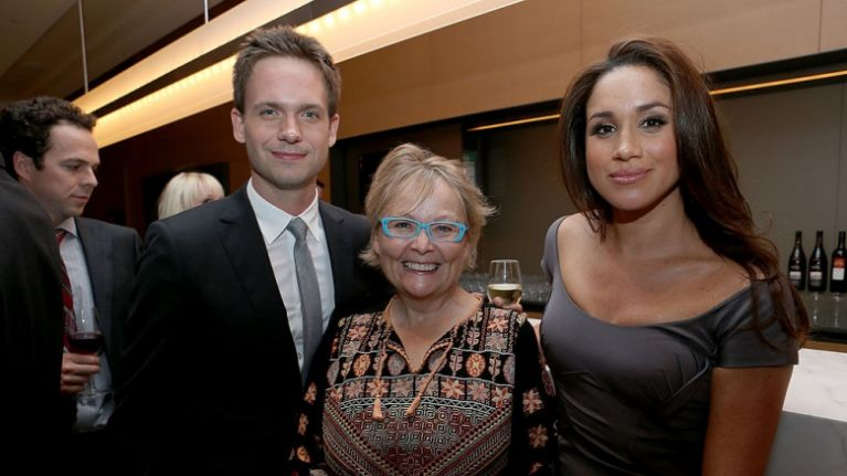 Suits star Patrick J  Adams was forced to delete this