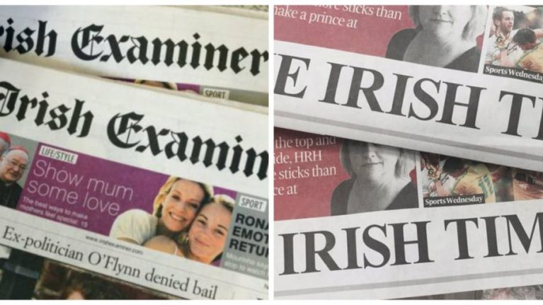 The Irish Times plan to acquire Irish Examiner within the next few weeks