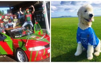 Fans across the country are going all out for today's All-Ireland Final
