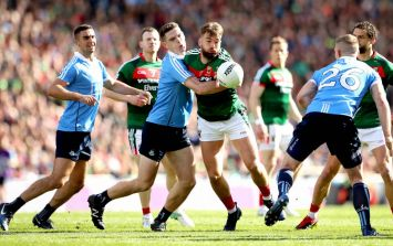 Twitter reacts to the first-half of the All-Ireland Final between Mayo and Dublin