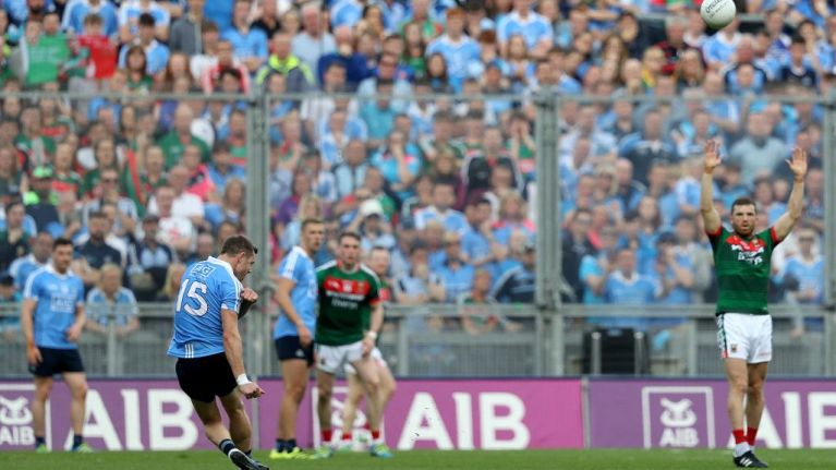 Dean Rock wins the All-Ireland Final for Dublin in the last minute