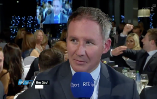 One player in particular certainly enjoyed Dublin's win at the banquet