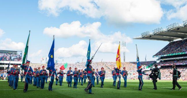 Gardaí share stunning aerial photo of Croke Park taken before All-Ireland Final