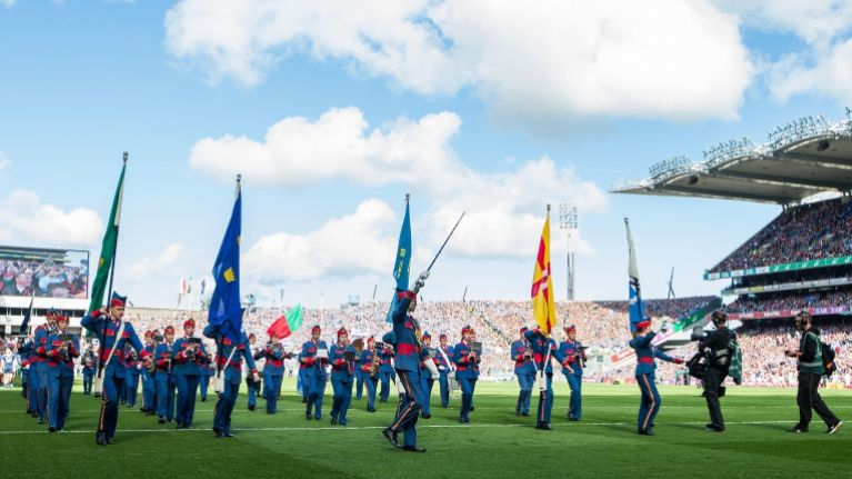 Gardaí share stunning aerial photo of Croke Park taken before All-Ireland Final