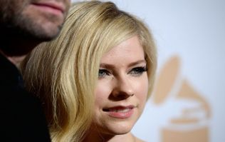 Avril Lavigne tops the list of the ten most dangerous celebrities on the internet