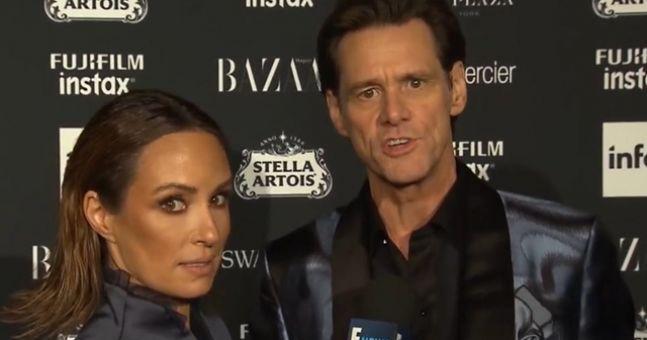 Jim Carrey explains a very awkward interview that went viral