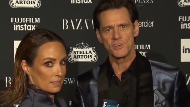 Jim Carrey explains a very awkward interview that went viral