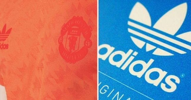 Adidas' new range of retro Manchester United gear is very slick