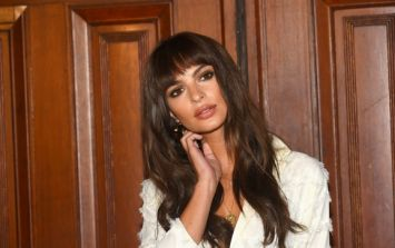 PICS: A new business owner was chuffed to see Emily Ratajkowski stop by during her recent visit to Cork