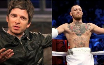 Noel Gallagher has been absolutely raving about Conor McGregor